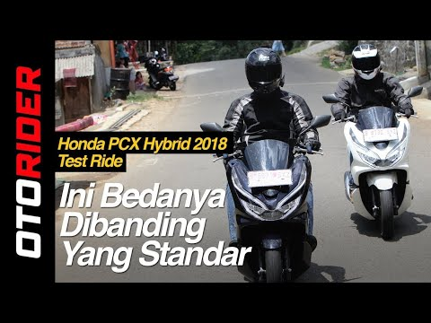 Honda PCX Hybrid 2018 Test Ride Review Indonesia | OtoRider