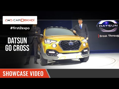 #first2expo | Datsun Go Cross Concept | Showcase Video @AutoExpo2016