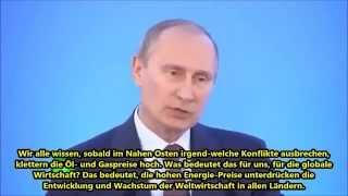 Putin: Falls USA Syrien angreifen, wird Russland Syrien helfen