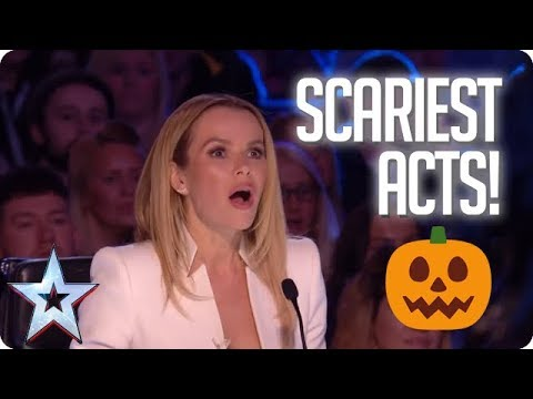 TOP 5 SCARIEST ACTS OF ALL TIME! | Britain's Got Talent