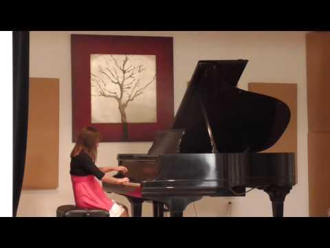 Helen Butkov student. Isabel Thompson.Royal Conservatory exam Level2