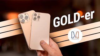 GOLD! Apple iPhone 13 Pro Unboxing & Hands On