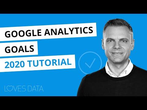Setting up Google Analytics Goals // 2020 Updated Tutorial