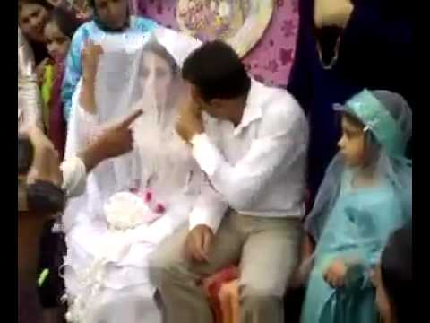 Groom beats the bride between the marriage function !!!