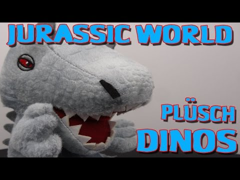 """""""JURASSIC WORLD PLÜSCH DINOS"""" -Vorstellung"""