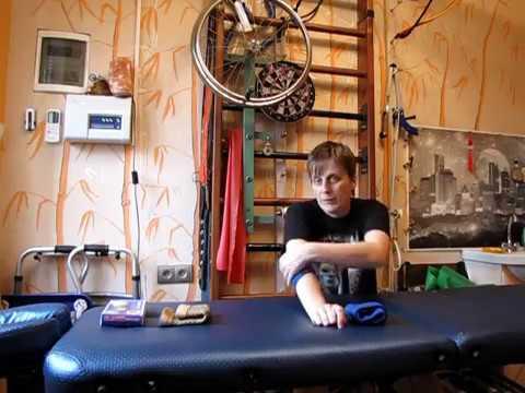 Бандажи на локоть. Помощь при эпикондилите локтевого сустава / Elbow brace