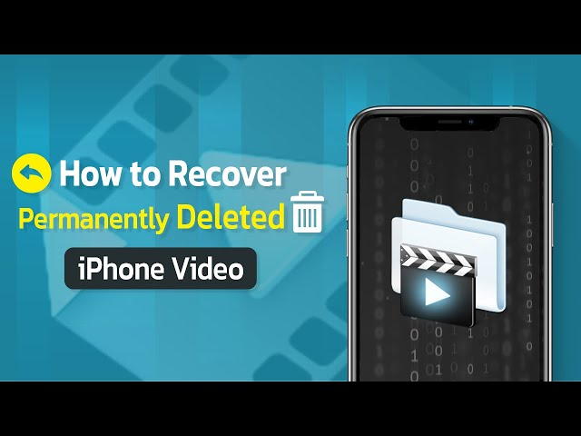 How to Recover Permanently Deleted iPhone Videos without Backup
