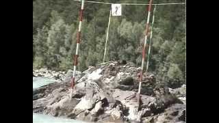 Каякинг - соревнования в Манжерке - Капитанская бочка (Алтай 2005)