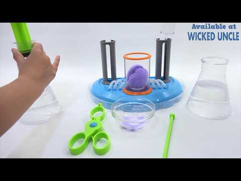 Youtube Video for Liquid Reactor Lab - Beaker Creatures