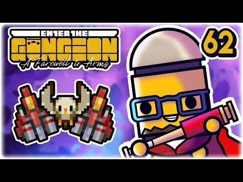 Fleet of Friends | Part 62 | Let's Play: Enter the Gungeon: Farewell to Arms | PC HD