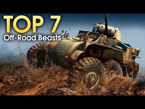 TOP-7 Off-road Beasts / War Thunder