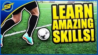Learn Amazing Football Skills Tutorial ★ HD - Neymar Skills/Ronaldo/Messi Skills