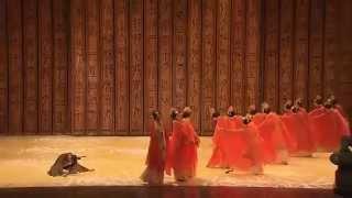chinese dance -- 棣棠舞