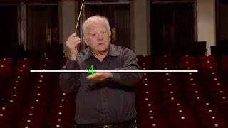 Lesson Two: The Basic 4 Pattern, Leonard Slatkin's Conducting School