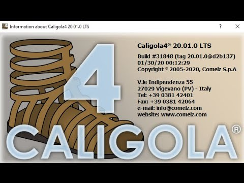 Comelz CALIGOLA 4 2020 Build 20.01.0 Leather industry CAD| Work All Windows OS |