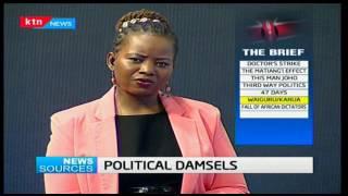 News Sources: Former CS  Anne Waiguru meets up with President Uhuru Kenyatta during his central tour