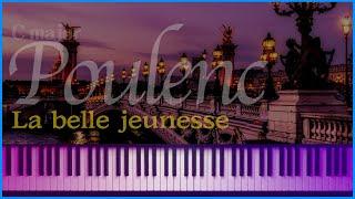 (Cmaj) Le belle jeunesse (Chansons Gaillardes, FP 42 - 7) - F.Poulenc (accompaniment) | noten - 노튼