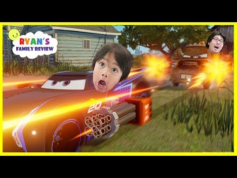 Cars 3 Driven To Win Gameplay Racing Game Lightning McQueen Part 2! Let's Play With Ryan's Family Re
