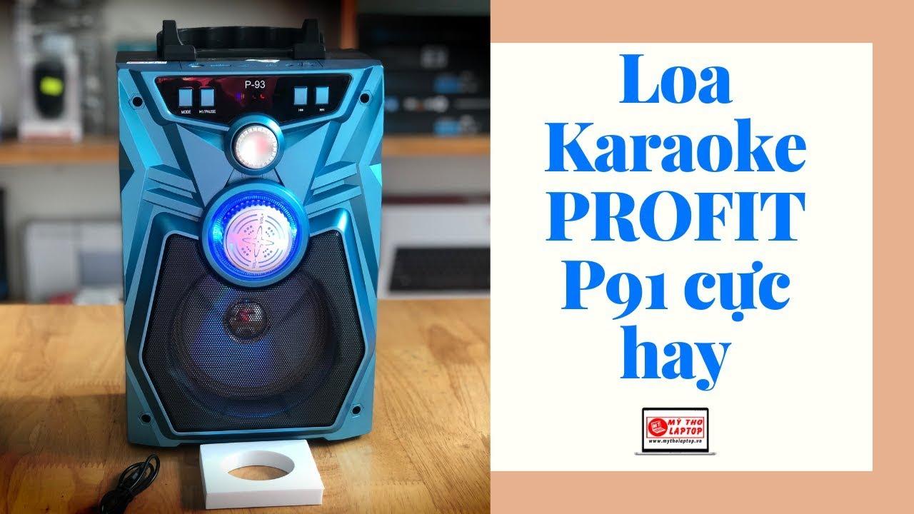Loa Karaoke Profit P91 chỉ 350K giao hàng COD toàn quốc