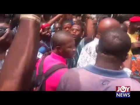 Koku Anyidoho Arrested on JoyNews (27-3-18)