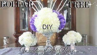DIY DOLLAR TREE BLING WEDDING CENTERPIECES 2017 PETALISBLESS 🌹