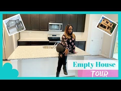 WE FINALLY GOT THE KEYS TO OUR DREAM HOME ......EMPTY HOUSE TOUR