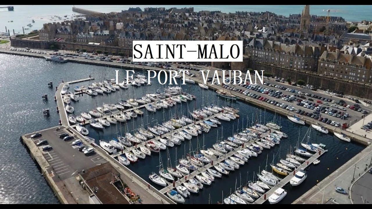Webcam en direct du port de Saint-Malo