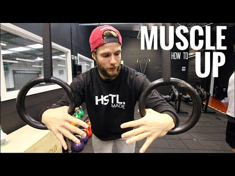 How to MUSCLE UP in 5 MINUTES - Strict and Kipping