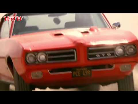 Muscle Cars Stunts And Jumps WOW!