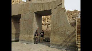 Wykopaliska megalitycznego Egiptu w drugiej części Osiriona-nagranie w j.rosyjskim