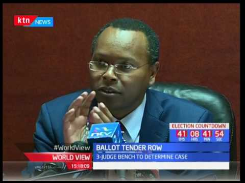 Ballot Tender Row : The three-judge bench to determine tender case