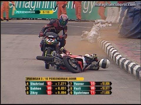 Giải đua xe máy chuyên nghiệp của ĐNA, em ko thể nào nhịn được cười khi coi clip