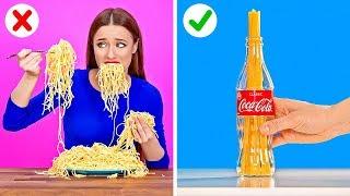 HAYATINIZI KOLAYLAŞTIRACAK ZEKİCE MUTFAK TÜYOLARI || 123 GO!'dan Eğlenceli Yemek Önerileri
