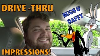 Bugs and Daffy at the Drive Thru - Drive Thru Prank