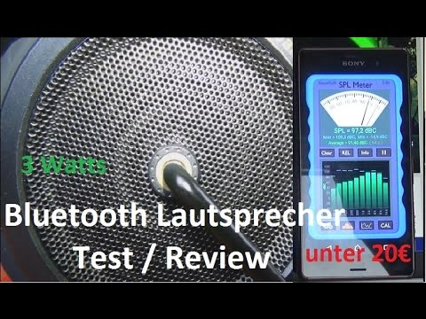 Bluetooth Lautsprecher Outdoor Test Review Unboxing