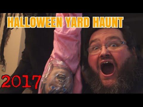 Halloween Yard Haunt 2017! Decorating for Halloween!