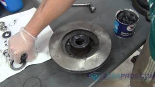 Brake Pad/Rotor Replacement Toyota Tacoma