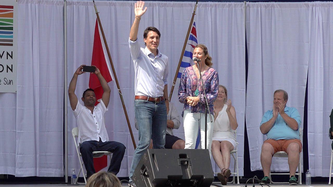 Prime Minister Justin Trudeau | 2018 BC Day Speech in Penticton