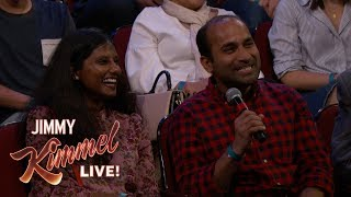 Behind the Scenes with Jimmy Kimmel & Audience (Arranged Marriage)