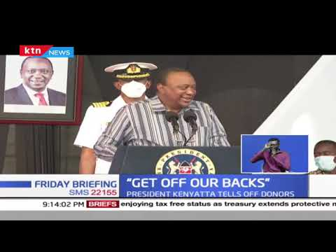 President Uhuru takes a direct jab against alleged foreign meddling in internal kenyan affairs