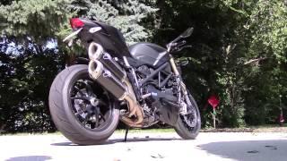Ducati Streetfighter 848 Exhaust Stock Vs Termignoni