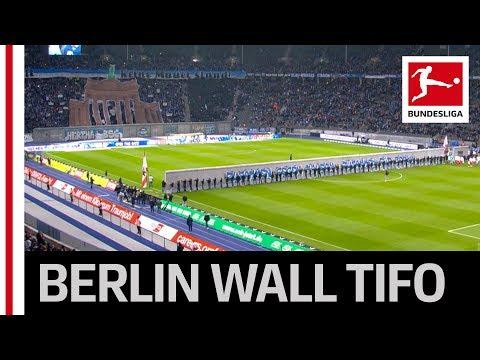 Emotiva conmemoración del fútbol por los 30 años de la caída del Muro de Berlín