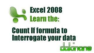 Excel - Using Formulas Tutorial 2