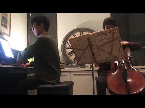 At a GroupMuse living room concert in January 2020!  Sebastian Stöger, cello