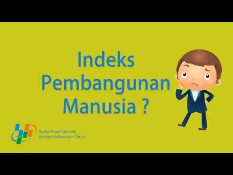 Videografis Indeks Pembangunan Manusia IPM Provinsi Kalimantan Timur