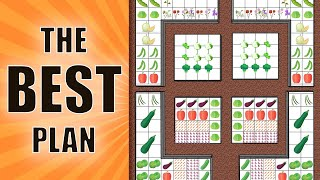 THE BEST Square Foot Garden PLAN - NEW & IMPROVED LAYOUT FOR 2020