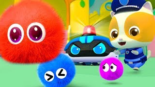 Baby And Police Robot Cleaners | No No Song | Nursery Rhymes | Kids Songs | BabyBus