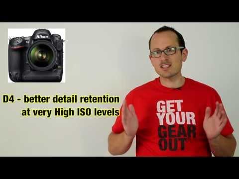Nikon D4 vs Canon 1Dx