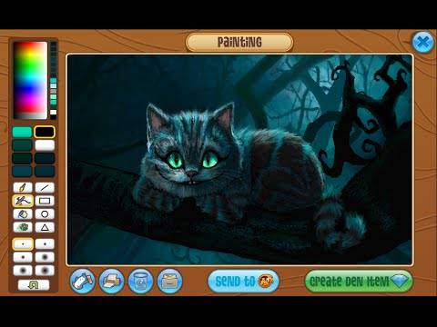 Animal Jam Masterpiece Speedpaint - Cheshire Cat