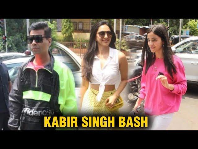 Kiara Advani, Ananya Panday and Khushi Kapoor join Karan Johar on lunch date